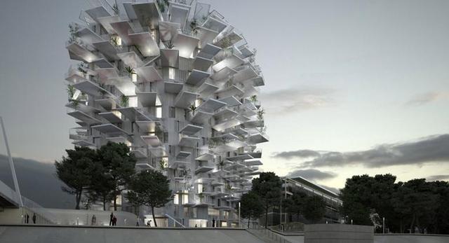 Bryła White Tree projektu stararchitekta Sou Fujimoto